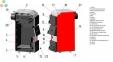 Твердотопливный котел Маяк АОТ-25кВт STANDART PLUS 3