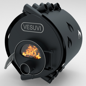 Булерьян «VESUVI» classic стекло+кожух «05», 40 кВт - 1200 м3