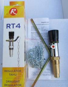 Механический регулятор тяги Regulus RT4. Улучшенный RT3