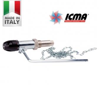 Регулятор тяги для твердотопливного котла Icma 147. Цена актуальна! Италия