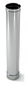 Труба дымоходная нержавейка L-1m D-100-300mm толщина 0,6 мм Версия Люкс