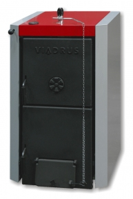 Твердотопливный котел Viadrus Herkules U 22 C. Мощность 58,1 кВт / 10 секции