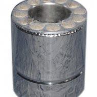 Труба утепленная 0.25 м нерж/оц 321 Fire Work толщина 0.8 мм