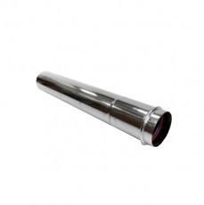 Труба-удлинитель нерж Версия Люкс L-0.5-1 м толщина 1 мм