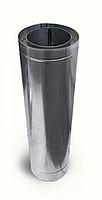 Труба-удлинитель с теплоизоляцией нерж/нерж Версия Люкс L-0.5-1 м толщина 0.6 мм
