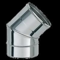 Колено 45 фиксированное Версия Люкс толщина 0.8 мм D 100-300 мм