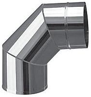Колено 90 фиксированное Версия Люкс толщина 0.8 мм D 100-300 мм