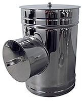 Ревизия нерж Версия Люкс толщина 0.6 мм D 100-300 мм