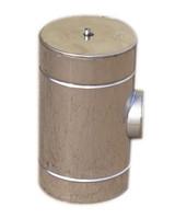 Ревизия с теплоизоляцией нерж/нерж Версия Люкс толщина 1 мм D 100-300 мм