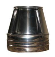 Конус с теплоизоляцией нерж/оц Версия Люкс толщина 0.6 мм D 100-300 мм
