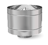 Переход нерж Версия Люкс толщина 1 мм D 100-300 мм