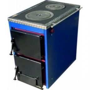 Твердотопливный котел с варочной поверхностью Корди АКТВ - 10 , 10кВт.