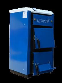 Твердотопливный котел Корди АОТВ - 30 СТ, 30 кВт. Сталь 6 мм