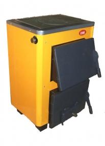 Твердотопливный котел с плитой Огонек  КОТВ-10 П. Сталь 3 мм