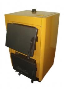 Твердотопливный котел Огонек КОТВ-18, 18 кВт. Стальной теплообменник