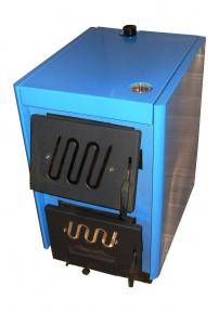 Твердотопливный котел Огонек КОТВ-14Д увеличена камера