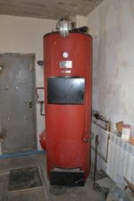 Твердотопливный котел длительного горения Swag 40 кВт