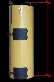 Твердотопливный котел длительного горения Stropuva 7 кВт (Украина)
