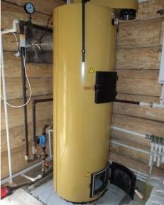 Твердотопливный котел длительного горения на дровах Stropuva 20 кВт - Украина
