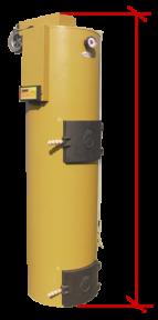 Котел длительного горения Stropuva 40 IDEAL с микропроцессорным регулятором температуры и центробежным насосом