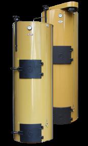 Твердотопливный котел длительного горения на дровах Stropuva 40 кВт - Литва