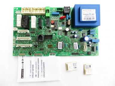 Плата управления Ariston Class / Genus 24/28 CF/FF код:65109313-02