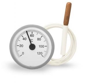 Термометр капиллярный круглый Д52 мм
