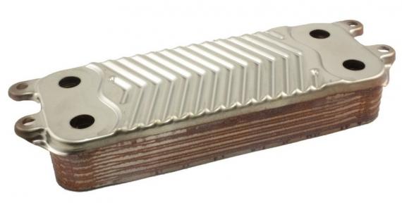 Теплообменник вторичный Vaillant atmoTEC pro/atmoTEC plus turboTEC pro/turboTEC plus.   код: 0020020018