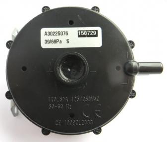 Прессостат дыма T-SENSE - 39/69 PA