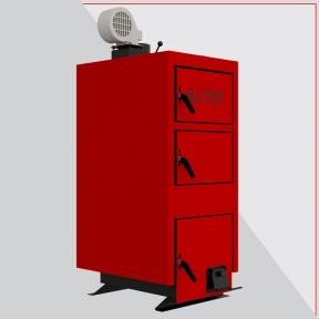 Твердотопливный котел длительного горения Альтеп КТ-1Е-N 24 кВт