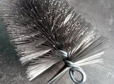 Щітка для очистки котла d=70 mm