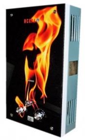 Газовый проточный водонагреватель ИСКРА принт