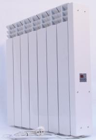 Электрорадиатор Эра 6 секций 650 Вт-12 м²