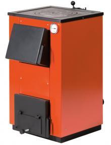 Твердотопливный котел MaxiTerm 14 кВт. C чугунной варочной плитой!