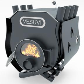 Булерьян «VESUVI» с варочной поверхностью и со стеклом +кожух «03», 27 кВт-750 м3