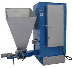 Твердотопливный котел длительного горения Wichlacz GKR 75/100 кВт (сталь 6 мм)(фракция 5-100 мм)