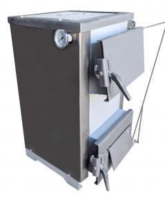 Твердотопливный котел Антрацит 10 квт с плитой+комплектующие(оплата частями)