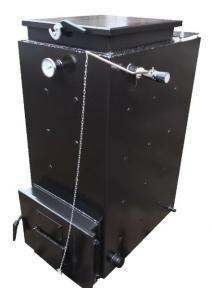 Шахтный котел Холмова Стандарт - 12 кВт. Длительного горения!