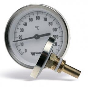 Термометр биметаллический с погружной гильзой WATTS T63/50