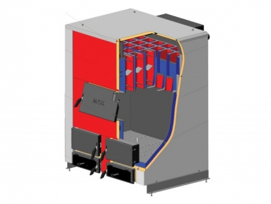 Твердотопливный котел Маяк АОТ-98, 98кВт. Промышленный