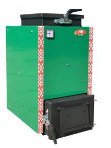 Белорусский шахтный котел Холмова Zubr Mini - 15 кВт. Сталь 5 мм!